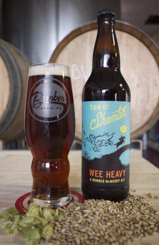 Bomber Brewing Tam O'Shanter Collaboration Wee Heavy