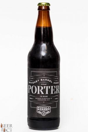 Powell Street Bourbon Barrel Aged Porter Review