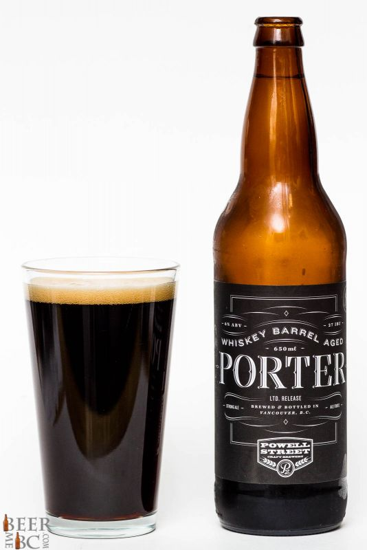 Powell Street Bourbon Barrel Aged Porter Review