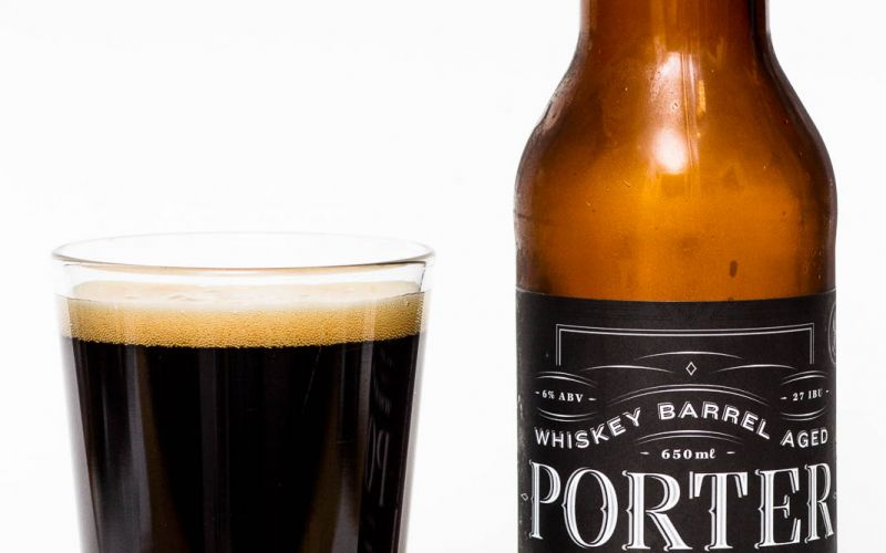 Powell Street Brewing Co. – Whiskey Barrel Aged Porter