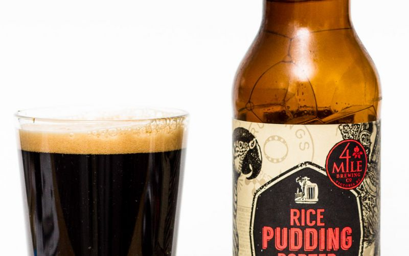 4 Mile Brewing Co. – Rice Pudding Porter