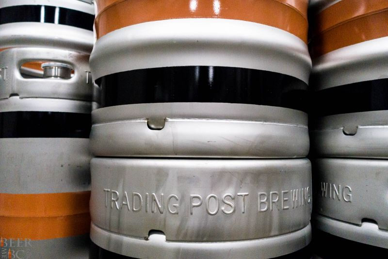 Trading Post Brewery Kegs