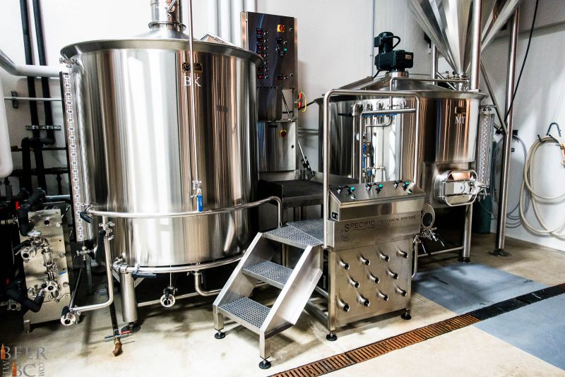 Trading Post Brewery Brewhouse