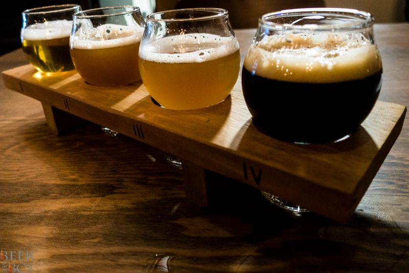 Beers from Trading Post Brewery