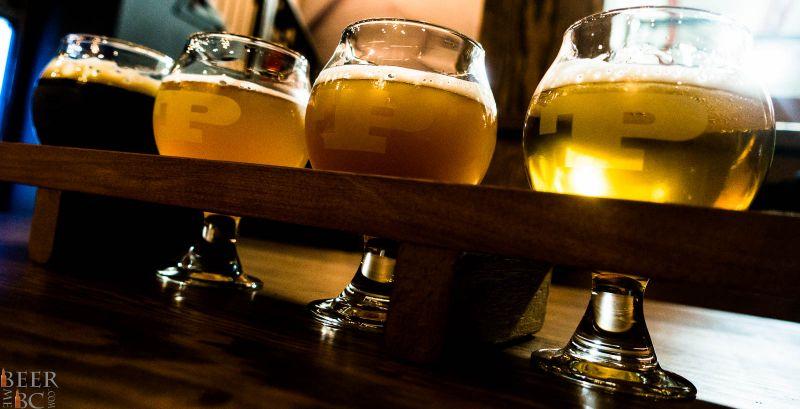 Trading Post Brewery Flight