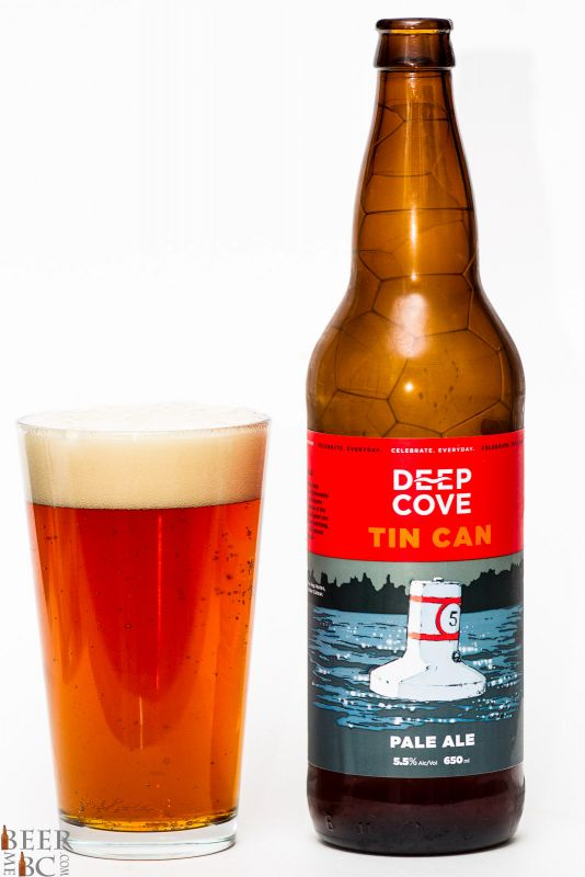 Deep Cove Brewers Tin Can Pale Ale Review
