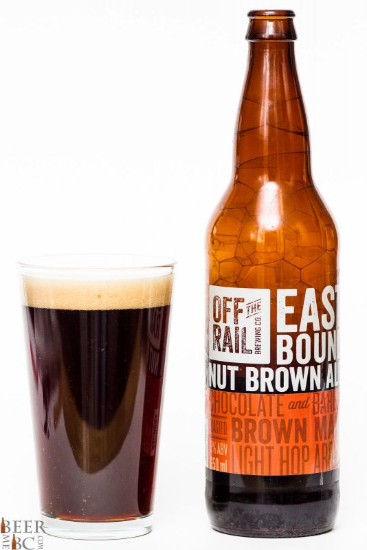 Off The Rail East Bound Nut Brown Ale Review