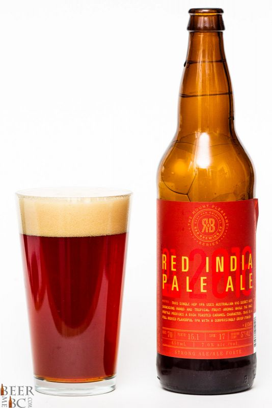 R&B Brewing Red India Pale Ale Review