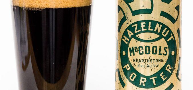 Hearthstone Brewery – McCools Hazelnut Porter