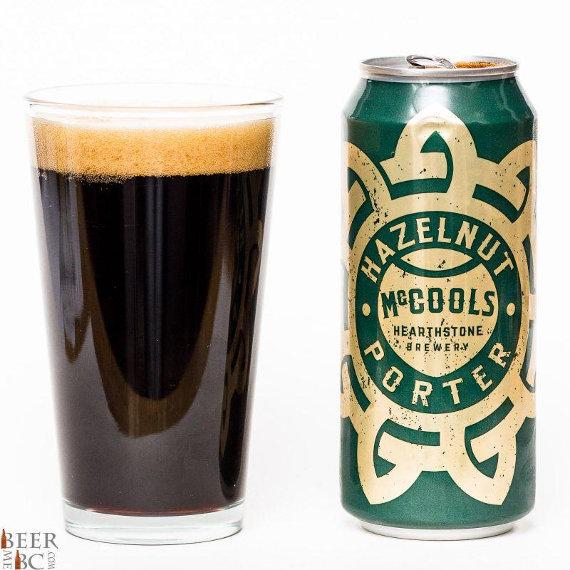 Hearthstone Brewery McCools Hazelnut Porter Review