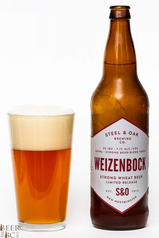 Steel & Oak Brewing Weizenbock Review