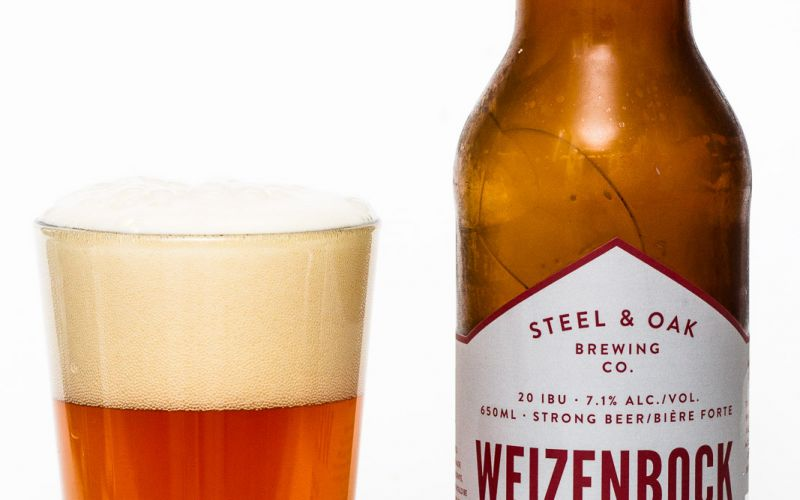 Steel & Oak Brewing Co. – Weizenbock Strong Wheat Beer