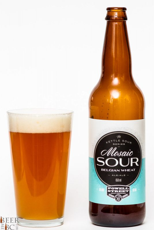 Powell Street Brewery Mosaic Sour Review