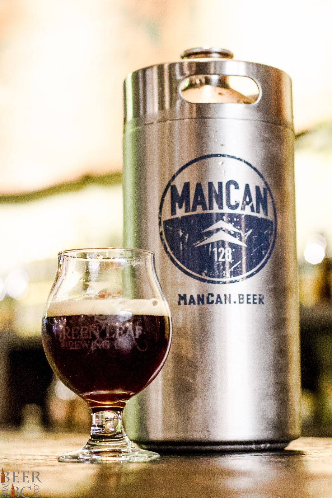 The Man Can Your Co2 Charged Craft Beer Growler Beer