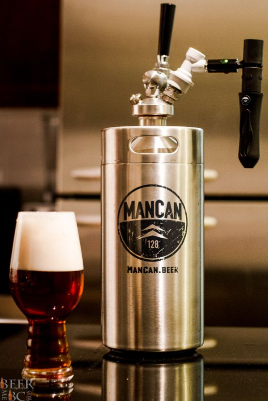 The Man Can Craft Beer Growler System