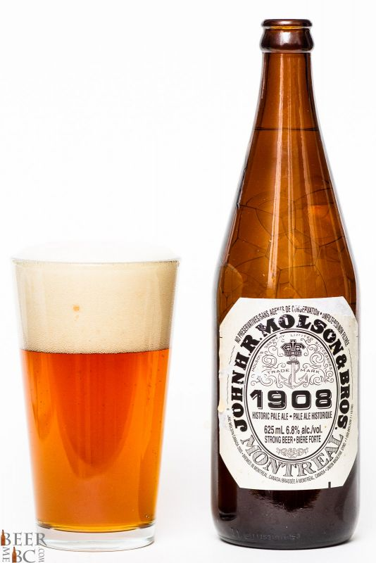 Molson 1908 Historic Pale Ale