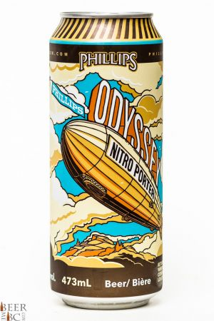 Phillips Brewing Odyssey Nitro Porter Review