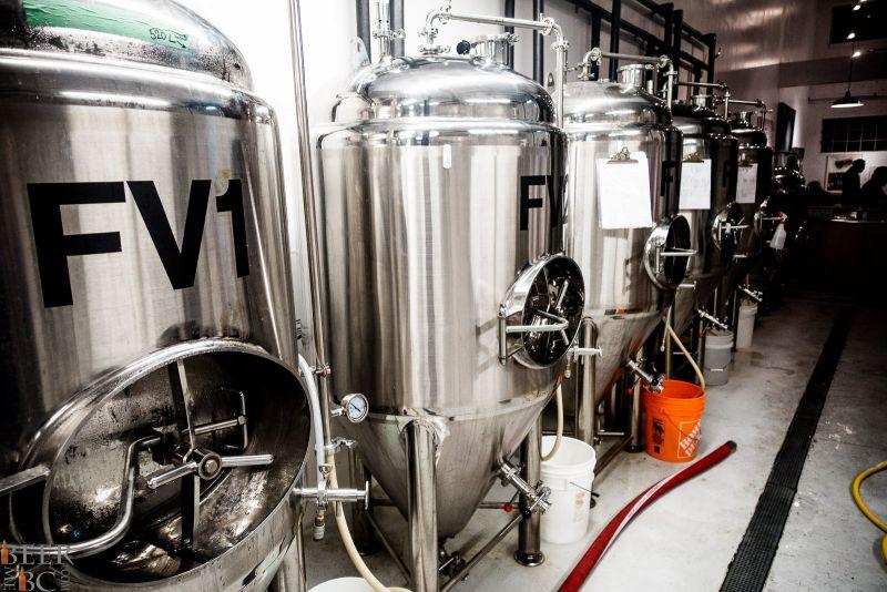 Callister Brewing Fermentor Farm