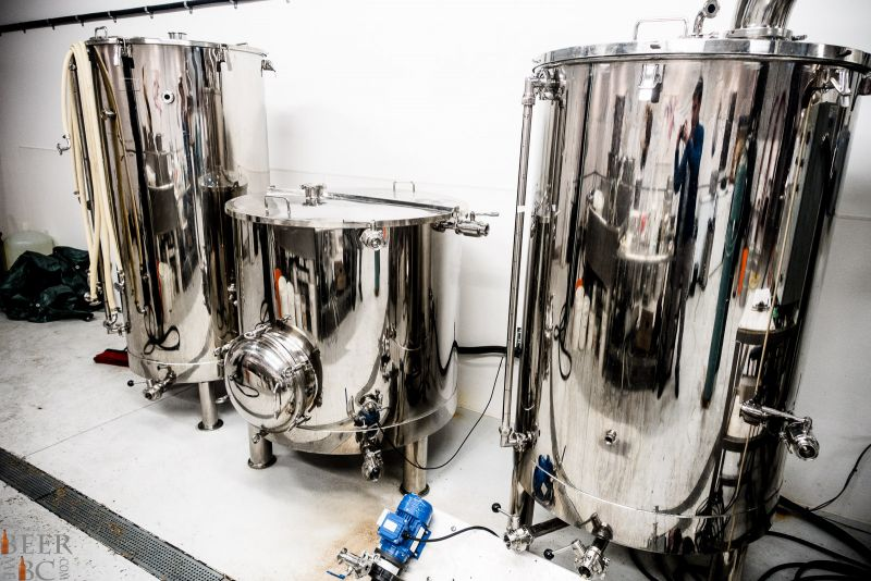 Callister Brewing Brewhouse
