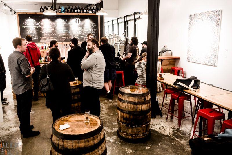 Callister Brewing Tasting Room Lounge