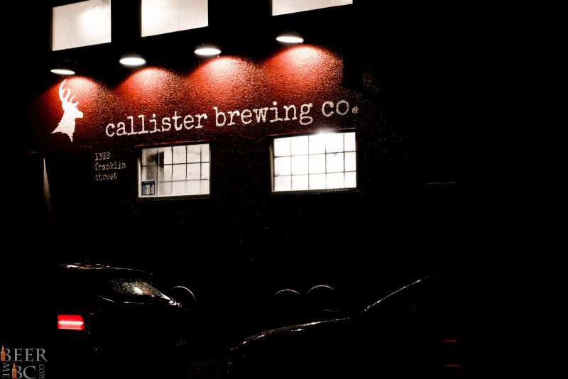 Callister Brewing Company Business Frontage