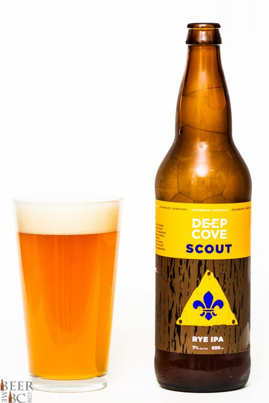 Deep Cove Brewers Scout Rye IPA Review