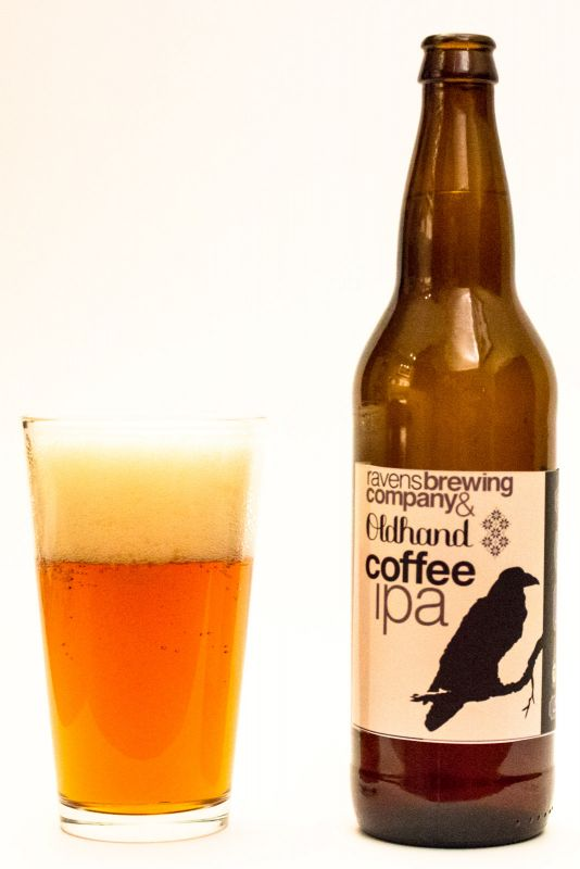Ravens Brewing - OldHand Coffee IPA Review