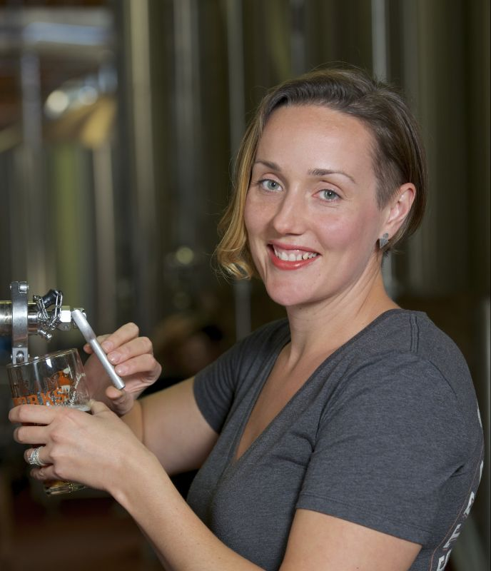 Julia Hanlon - Steamwork Brewing Brewmaster