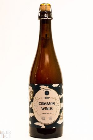 Four Winds Brewing Common Winds Collaboration Bottle