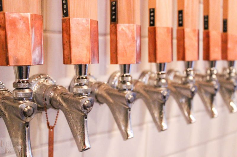 Fieldhouse Brewing Taps