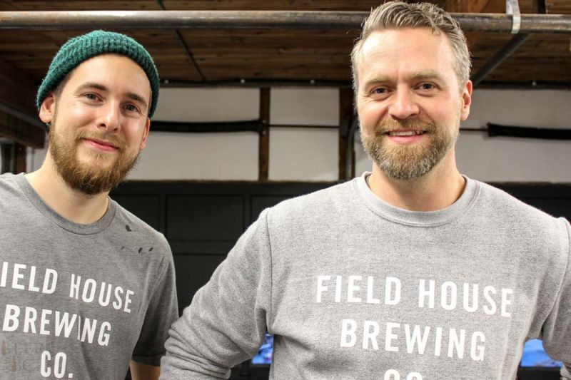 Fieldhouse Brewing Parker & Josh