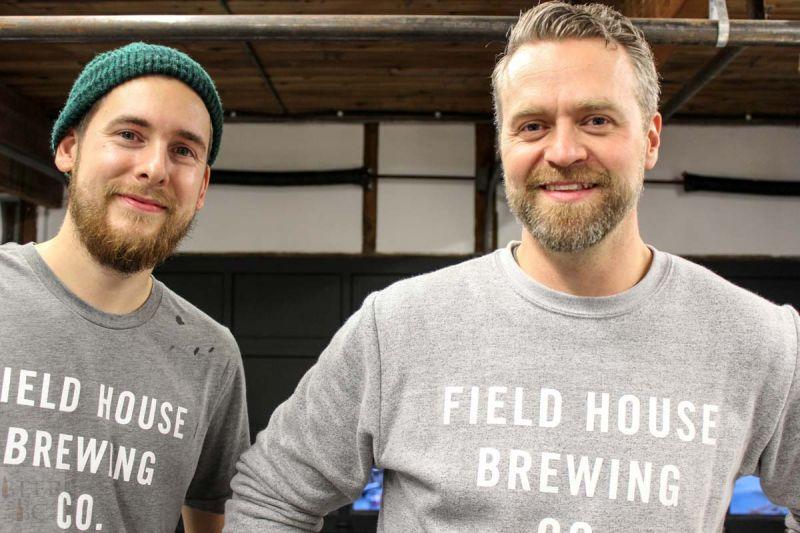 Fieldhouse Brewing Parker & Josh