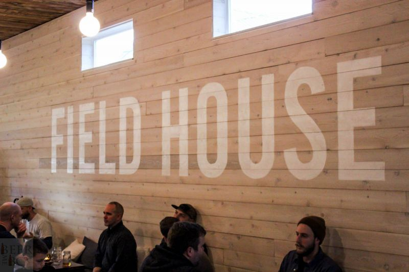 Fieldhouse Brewing Tasting Lounge 3