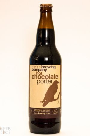 Ravens Brewing Hot Chocolate Porter Bottle