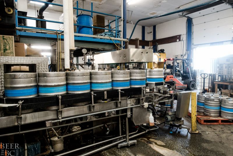 Phillips Brewing Kegging Station
