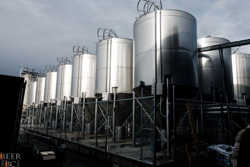 Phillips Brewery Outdoor Fermentor Farm