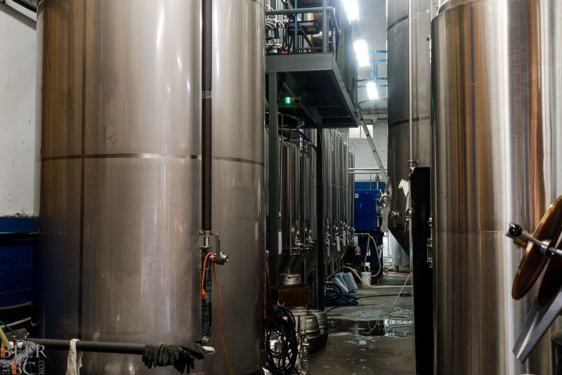 Phillips Brewery Indoor Tanks