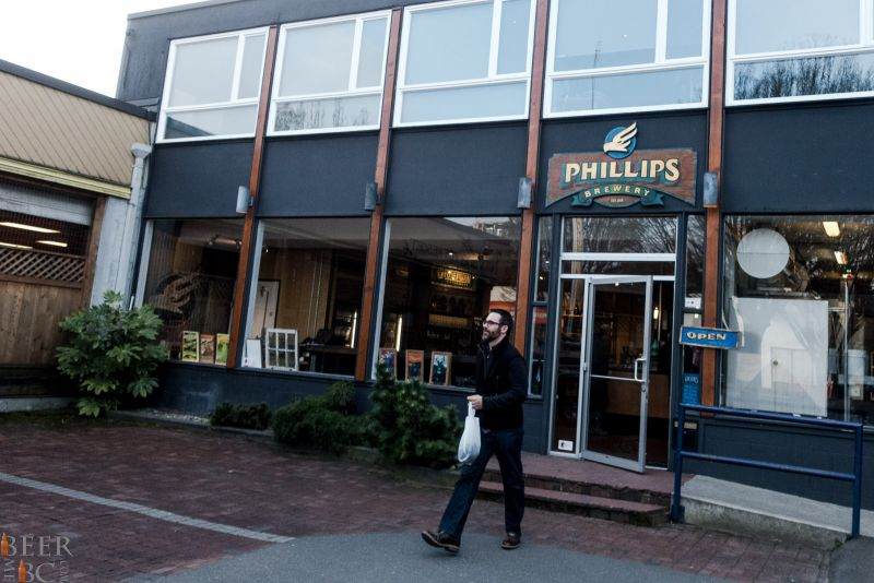 Phillips Brewery Storefront
