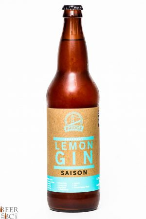 Bridge Brewing Lemon Gin Saison Review