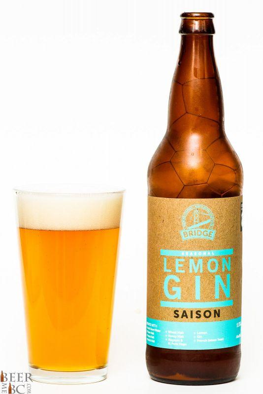 Bridge Brewing Lemon Gin Saison Review