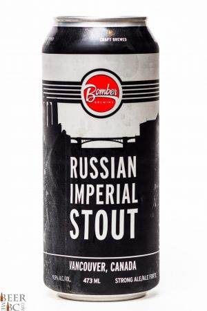 Bomber Brewing Russian Imperial stout Review