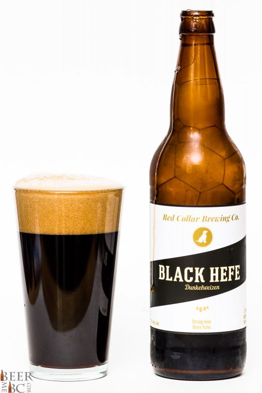 Red Collar Brewing - Black Hefe Dunkelweizen Review