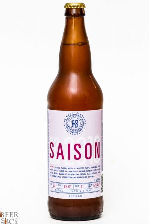R&B Brewing Mt Pleasant Saison Review