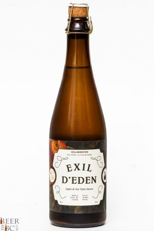 Four Winds Exil D'Eden Apple Oat Saison Review