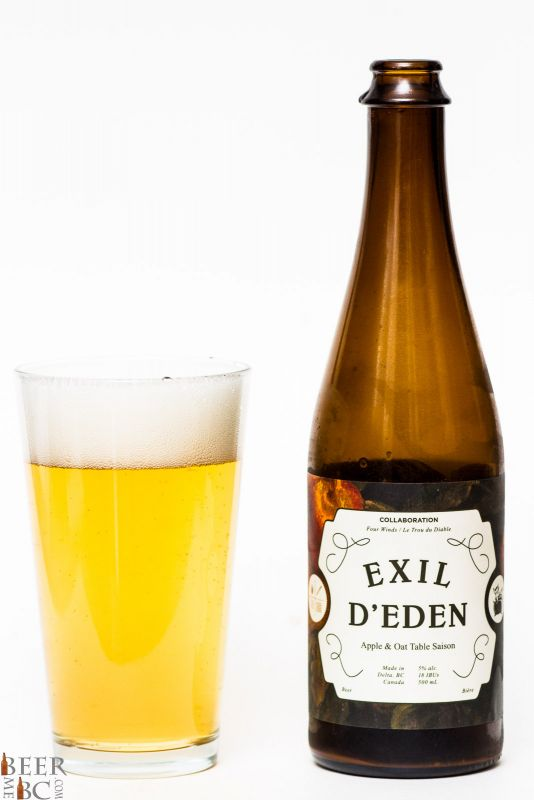 Four Winds Exil D'Eden Apple Oat Saison Review
