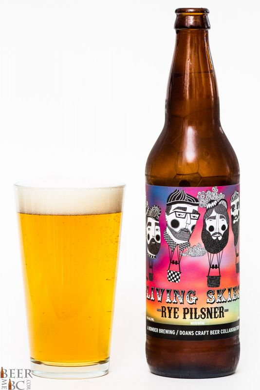 Bomber & Doans Brewing Living Skies Rye Pilsner Review