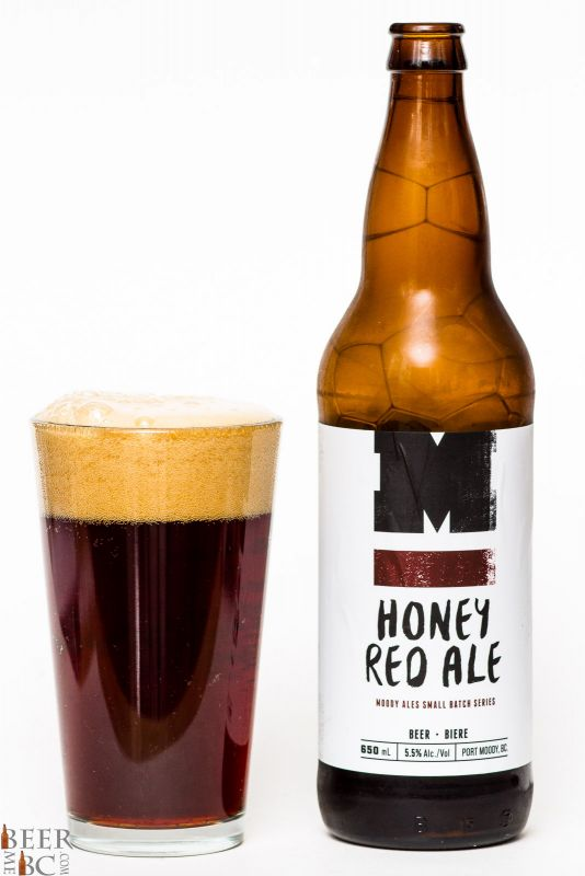 Moody Ales Honey Red Ale Review