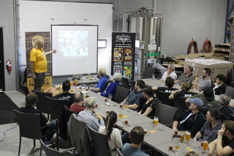 Joe Wiebe - Thirsty WriterCraft Beer Revolution Seminar + Beer Tasting