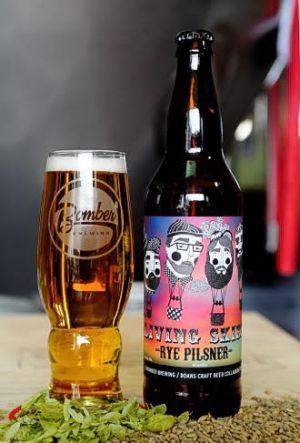 Bomber & Doans Living Skies Rye Pilsner