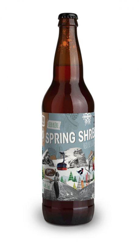 Whistler & Fernie Collaboration Spring Shred Beer